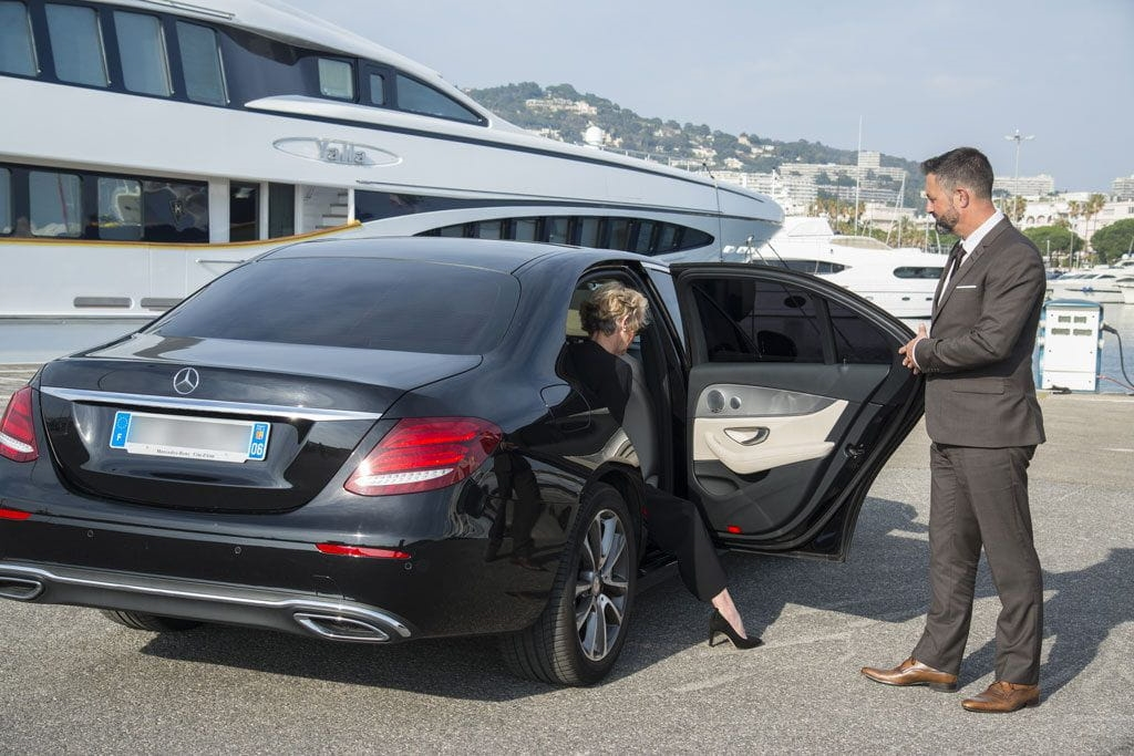 chauffeured service in Cannes
